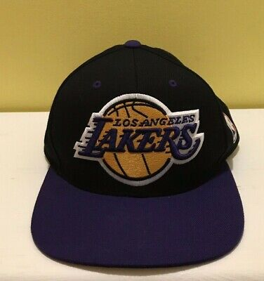 large discount online shop official images coupon for los angeles lakers mitchell ness nba pinstripe snapback ...