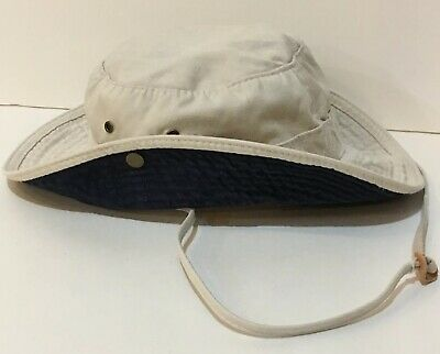 265f2ac910a Dorfman Pacific Safari Aussie Outback Bucket Hat With Side Snaps   Chin  Strap M