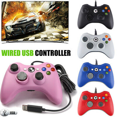 USB Wireless/Wired Game Controller Gamepad Joystick for Microsoft Xbox 360 & PC