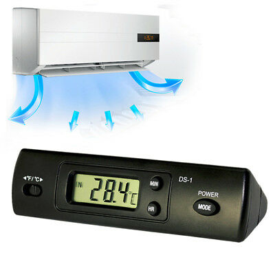 Digital LED Auto Car In-Outdoor Thermometer W/Sensor Temperature LCD Display ~