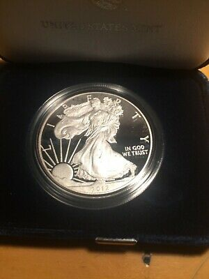 2012 W Silver Proof American Eagle Dollar US Mint $1 ASE 1oz Bullion Coin