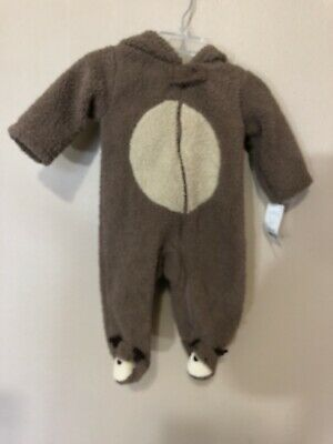 3cd0ce393675 NWT BABY INFANT Girl Boy Carters Snow Suit Winter Fleece Coverall 0 ...