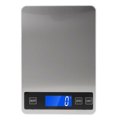 Kitchen Digital Scales 22lb/10kg Charging Touch Button Waterproof Cooking Scale