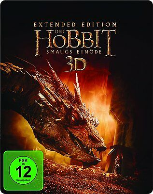 The Hobbit: Desolation Of Smaug 3d Montaje Del Director (Caja Metálica, Bluray)