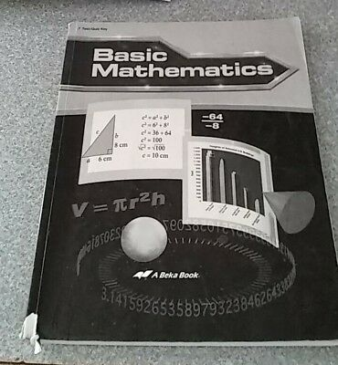 A BEKA PRE Algebra Solution Key Grade 8 Abeka 8th - $5 00
