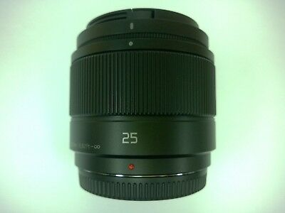 Nuevo Panasonic LUMIX G 25mm f/1.7 ASPH objetivo para M.3/4 Micro Four Thirds