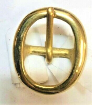 Solid Brass Buckle 1 inch 1""
