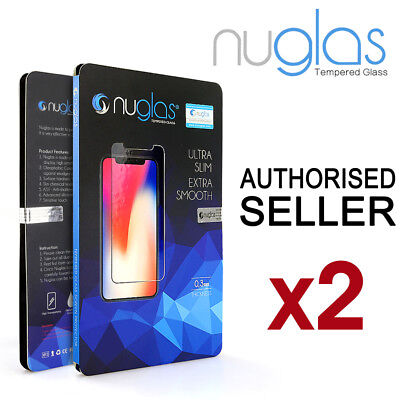 2x For Apple iPhone 11 Pro XS Max XR 8 7 Plus Tempered Glass Screen Protector