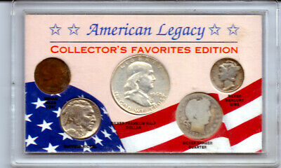 American Legacy Collector's Favorites Edition 5-Coin Set (3 Silver) #1