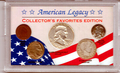 American Legacy Collector's Favorites Edition 5-Coin Set (3 Silver) #2