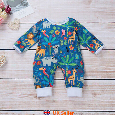 Child Kid Baby Boy Girl Cute Cartoon Jumpsuit Romper Crawl Suit Outfits Clothes