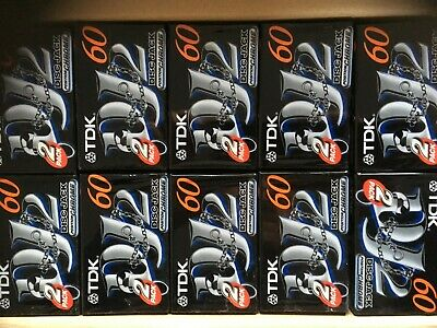 Tdk Disc Jack 2 60 Box Of 120 Pieces Factory Sealed Cassettes