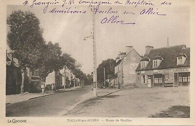 CPA - France - (03) Allier - Toulon-sur-Allier - Route de Moulins
