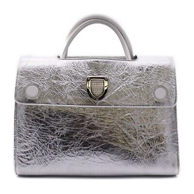 a6990d80d0b4 Christian Dior DIOREVER Dior Ever 2 Way Handbag M7001PNStainless Steel  Leather