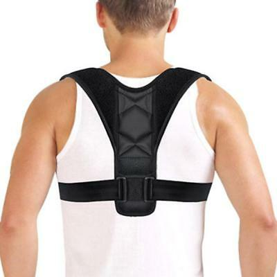 Adjustable Therapy Posture Corrector Support Body Back Pain Belt HOT