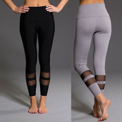 Women's YOGA Gym Sports Pants Hip Push Up Leggings Fitness Workout Stretch Hot