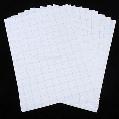 10pcs A4 T Shirt Transfer Paper Iron On Dark Fabrics Heat Press Inkjet Print MC
