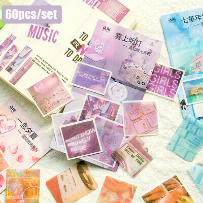 Scrapbooking Stationary Paper Sticker Diary Label Phone Decor Stickers