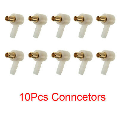 10Pcs 4mm Replacement Carburetor Fuel Hose Connector for Briggs Stratton 692317