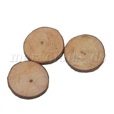 50 Pieces Natural Pine Wood Slices Circles for Arts & Crafts & Ornaments
