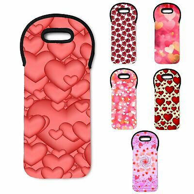 Valentines Day Insulated Padded Thermal Wine Cooler Bag