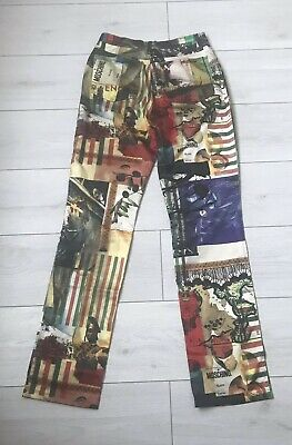 Vintage Fashion Designer Moschino Jeans  Trousers / Waist 29 Inches