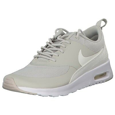 the latest 7be13 9f93b Nike Air Max Thea Femmes Baskets Sneakers 599409-026 Blanc Beige Neuf