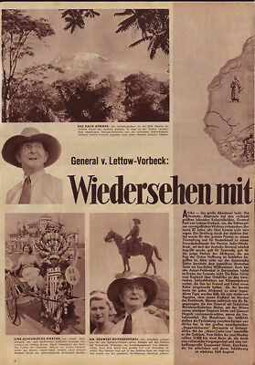 General Lettow-Vorbeck Tochter Heloise Schutztruppe Afrika Reise DSWA DOA 1953