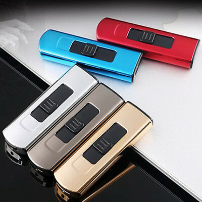 Electric Double Pulse Plasma USB Arch Windproof Flameless Cigarette Lighter