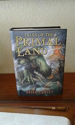Brian Lumley Tales Of The Primal Land Signed Limited Edition Subterranean Freepp