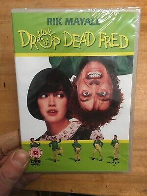 Drop Dead Fred-Rik Mayall Phoebe Cates(R2 DVD)New+Sealed 1991 Carrie Fisher