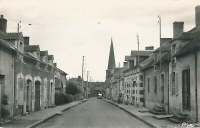 CPA - France - (03) Allier - Vallon-en-Sully - Route de Chazemais