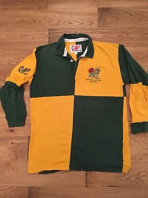 England Vs South Africa Lord's 1998 Cricket MAGLIA SHIRT WORN ISSUED MATCH GAME