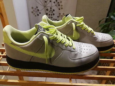 innovative design 16f97 b5417 Nike Air force One AF1 Taille 45 Granite  Lime - Dark Taille 45