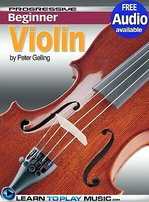 Violin Lessons for Beginners: Teach Yourself How to Play Violin PDF + Audio