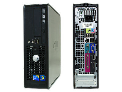 Dell 780 Sff Pc Usato Core 2 Duo 4Gb Ddr3 E8400 Dvd Windows 7