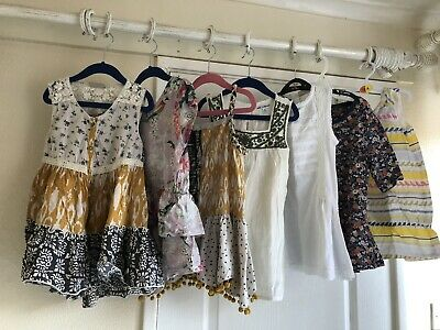 7 Pretty Summer Clothes Bundle Tunic Tops Next Gap Age 8-9