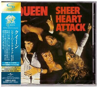 Queen, Sheer Heart Attack  ( Remastered, Limited Edition, 2-SHM-CD )