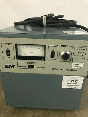 ENI OEM-25A-21091-51 Rev. M Solid State Power Generator