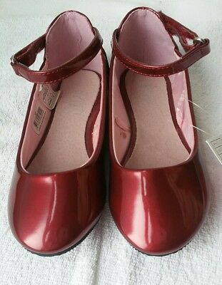 17d1371cc3256a NEUVES BALLERINES 27 fille vernies rouges semelle int cuir. Lots fdp ...