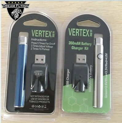 2 Push Button Battery vape o.pen preheat 510 Thread Variable Voltage cartridge