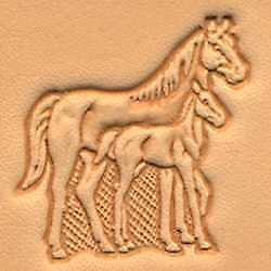 Stute & Fohle 3-D Lederbearbeitung Tandy Leather Punzierstempel