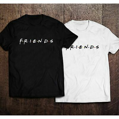 Adults Unisex Fashion Friends T-Shirt TV Series Retro 90 Casual Womens Funny Top