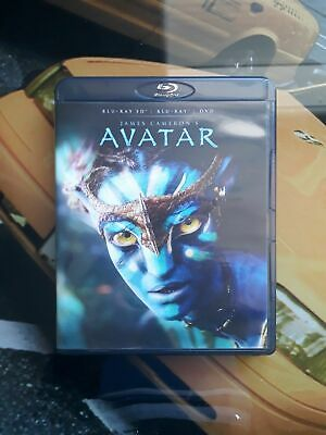 blu ray 3d + dvd Avatar