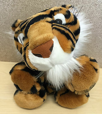 KELLYTOY USA BIG CAT TIGER HAND PUPPET SOFT TOY 25cm