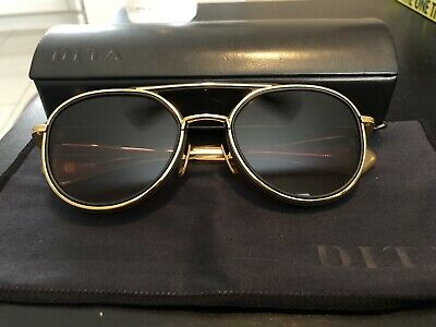 fc50c763dd AUTHENTIC DITA SUNGLASSES 19017 Spacecraft Black and Gold! -  405.00 ...