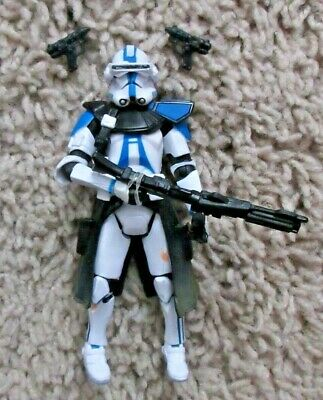 """Star Wars Commander Bow Clone Wars 30Th Anniversary 3.75"""" Legacy Collection"""
