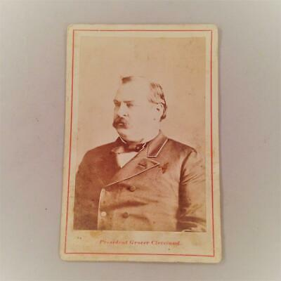 "Grover Cleveland Antique Cabinet Card 4 ¼"" x 6 ½"""