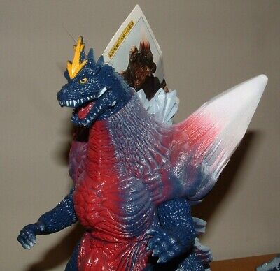 "BANDAI 9"" Tall 1994 SPACE GODZILLA Vinyl Figure with TAG"