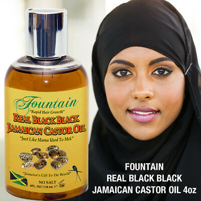Organic Jamaican Black Castor Oil for Multi Purpose Healing & Fast Hair Growth